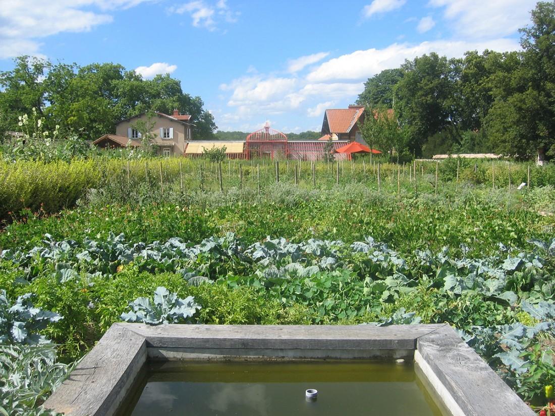 Woodstock paysage jardin potager du domaine de lacroix laval for Jardin potager 2015